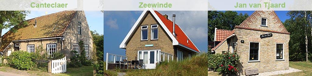 Vakantiehuis op Terschelling